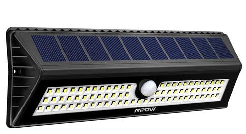 Luci da esterno Mpow 77 LED con sensore di movimento