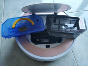 Aspirapolvere Lava pavimenti ILIFE V7S Pro Robot aspirapolvere