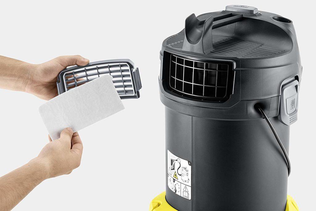 Migliori aspiracenere - Karcher filtro