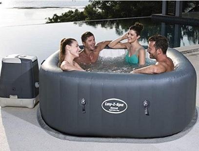 Migliori piscine idromassaggio - Bestway 54138 Lay-Z-Spa