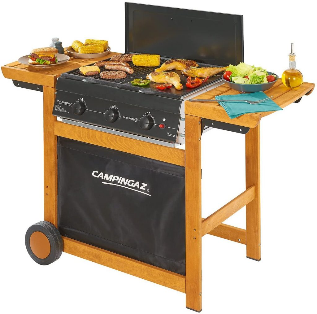 Miglior barbecue - Campingaz Adelaide 3 Woody
