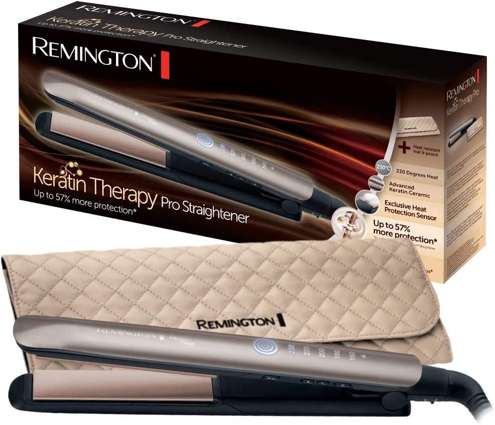 Migliore piastra per capelli - Remington S8590 Piastra Keratin Therapy Pro