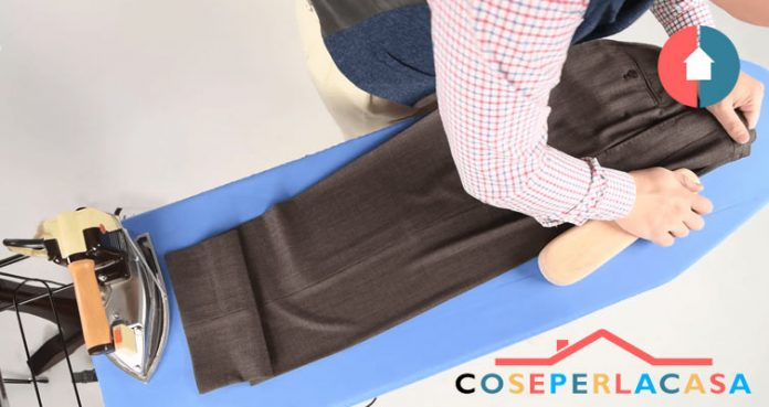 Come stirare i pantaloni